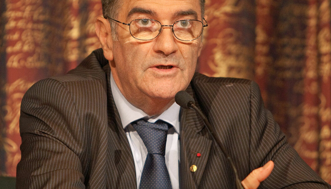 """In his speech at the ESOF2014 conference, Nobel laureate Serge Haroche focused on the great value of basic research. (Photo: <a href=""""https://www.flickr.com/people/97469566@N00 target=""""_blank"""">Bengt Nyman</a>)"""