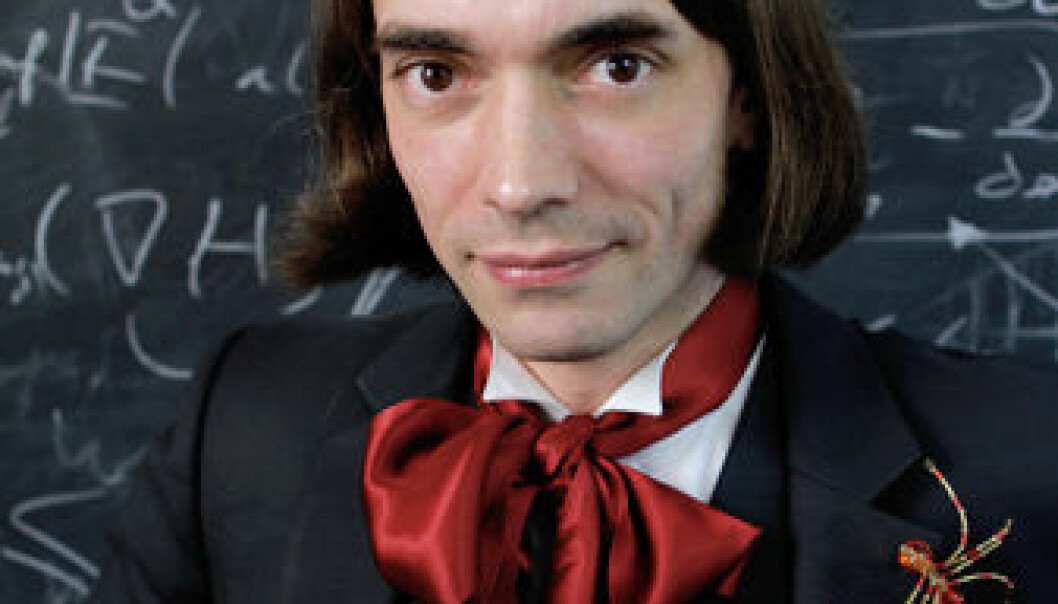 Mathematician Cédric Villani says that no matter what subject you're talking about, you absolutely have to make your audience laugh several times during the talk.