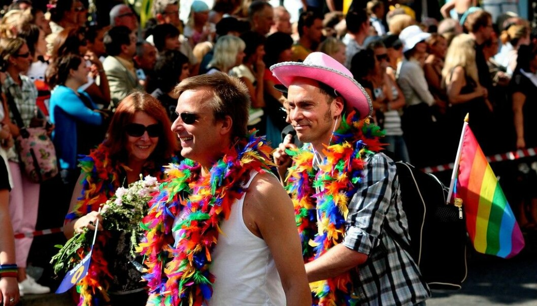 """""""Stockholm Pride"""" is Scandinavia's largest Gay Pride festival. The annual event, usually held at the end of July or beginning of August, was established in 1998. (Photo: Anders/Flickr)"""