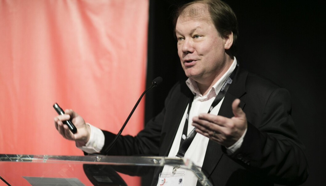 A new study brings scientists closer to being able to predict disease development in human populations. Lead author Professor Søren Brunak (photo) presented the new study during a talk at the science conference Euroscience Open Forum 2014 in Copenhagen. (Photo: ESOF2014)
