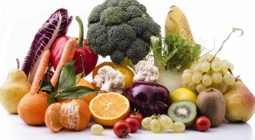 Too little fruit and veg in children's diet