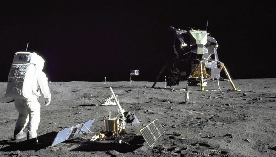 In 1969 Apollo 11 was the first manned mission on the Moon -- the picture shows Buzz Aldrin on the mission. Since then scientists have wondered if it could be possible to carry out mining on the Moon. According to a Danish scientist, we are close to that point. (Photo: Neil Armstrong/NASA)