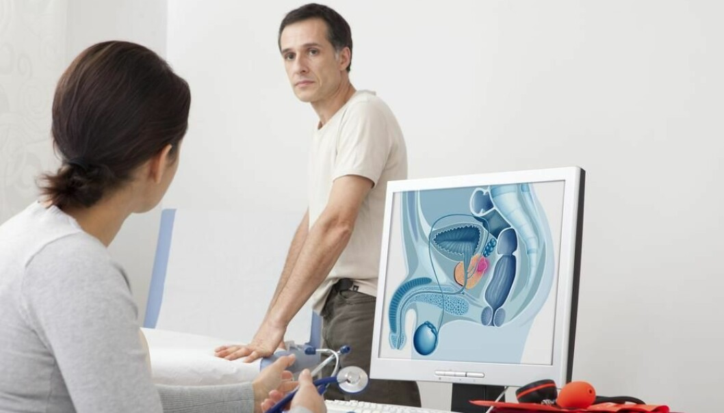 "Scientists have identified 23 new genetic flaws that increase the risk of prostate cancer. This mean the total of known flaws is up to 100. (Photo: <a href=""http://www.shutterstock.com/da/pic-171516146/stock-photo-cancer-consultation-man.html?src=2bLbDcWy52ofSsXgwTN2-g-1-1"" target=""_blank"">Shutterstock</a>)"