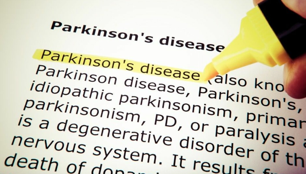 Parkinson's disease is a degenerative disorder of the central nervous system characterised by its symptoms: movement disability, muscle rigidity and tremors.  (Illustrative photo: Colourbox)