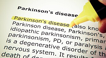 Parkinson's can start in the gut