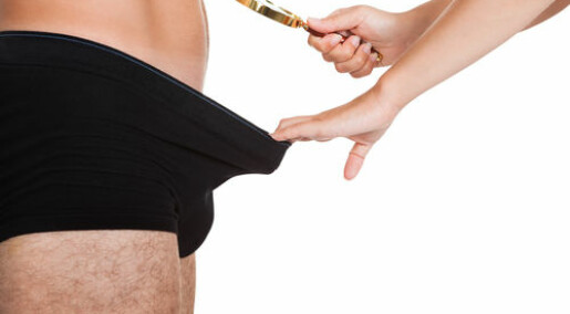 Endocrine disruptors cause a man's anus to crawl towards his penis