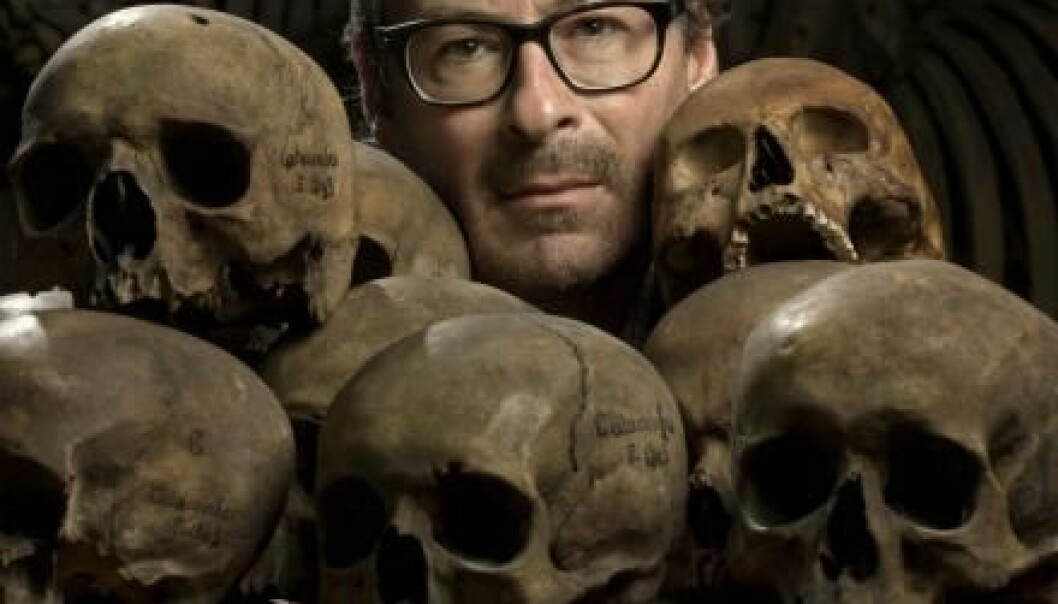 Professor Eske Willerslev, director of the Centre for Geo-genetics at the University of Copenhagen, has sequenced a 37,000-year-old genome. (Photo: Mikal Schlosser)