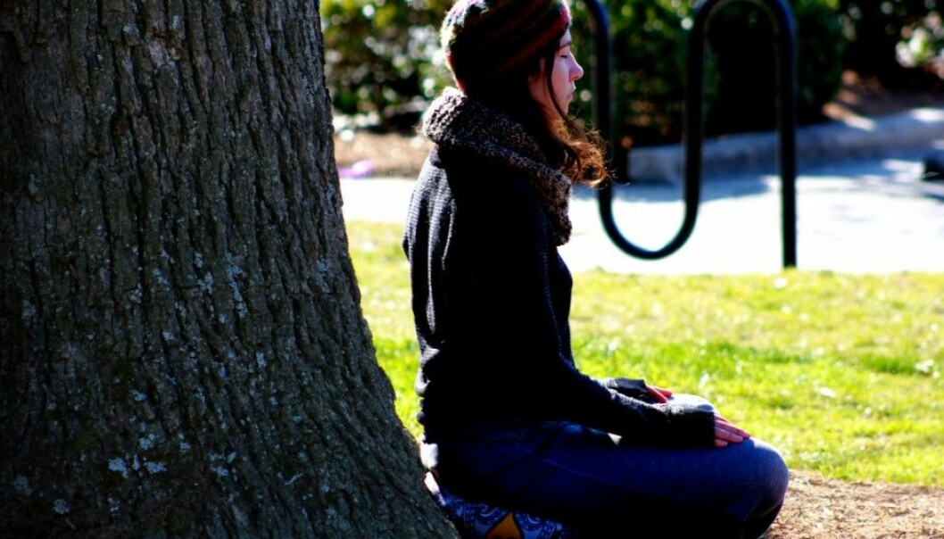 Mindfulness is a simple technique that many swear by. Now it appears the method can be as effective as more conventional treatments for depression and anxiety. (Photo: Caleb Roenigk, Flickr)