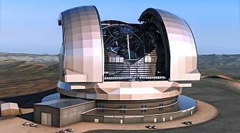 Denmark invests millions in world's biggest telescope