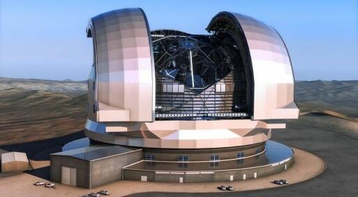 Denmark invests millions in world's biggest telescope