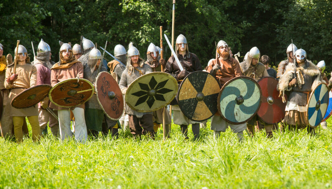 "The Vikings were plagued by intestinal worms because of poor hygiene and because they lived in close proximity to their animals, suggests new DNA study. (Photo: <a href=""http://www.shutterstock.com/gallery-160486p1.html?cr=00&pl=edit-00"">De Visu</a> / <a href=""http://www.shutterstock.com/editorial?cr=00&pl=edit-00"">Shutterstock.com</a>)"