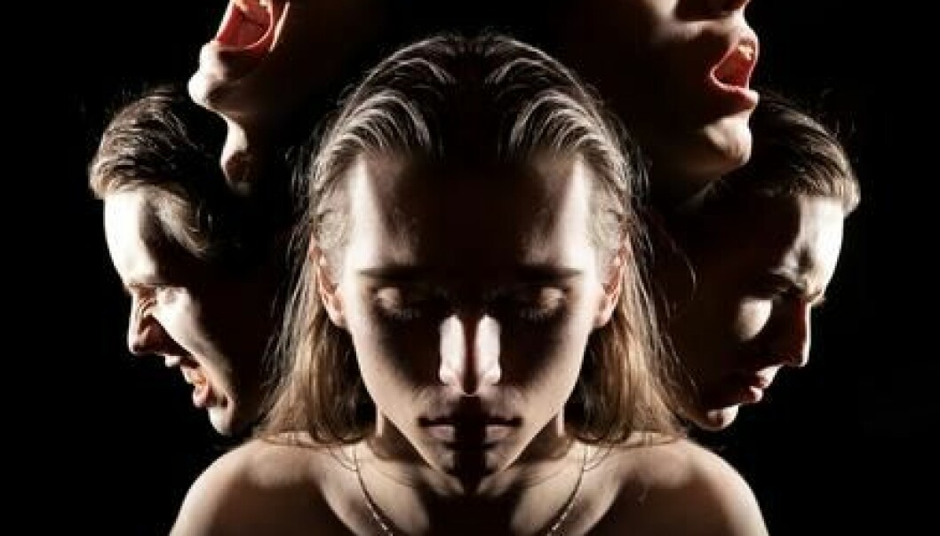 Hearing and seeing things or people are characteristic of schizophrenia. Scientists have now found a number of flaws in some biological processes that are common to multiple mental illnesses. (Phote: Shutterstock)