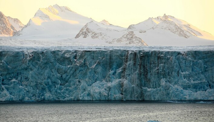 Europe's largest glacier is losing ice fast
