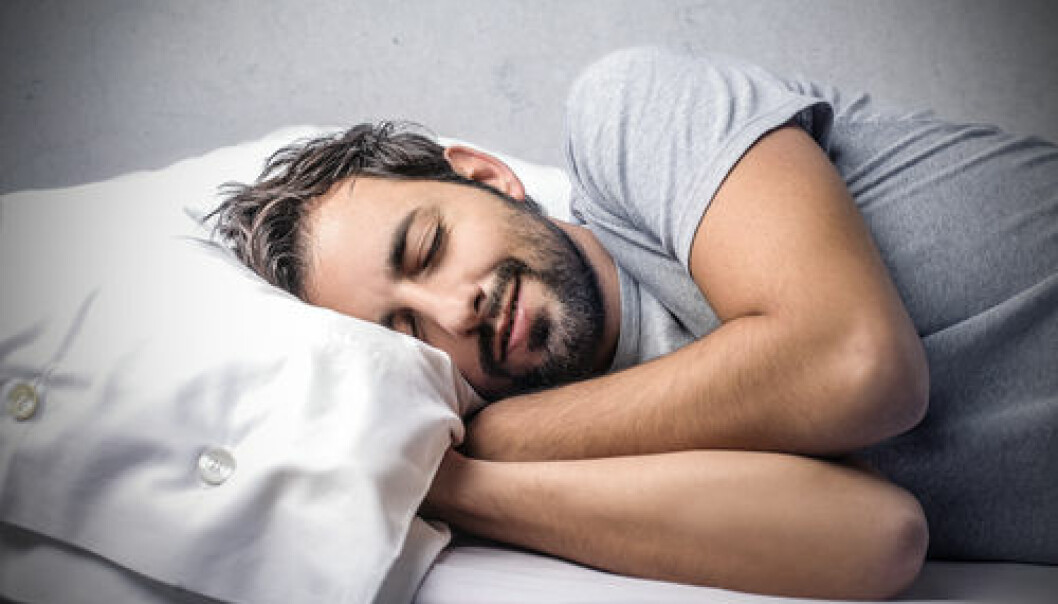"Glial cells are known as the brain's ""cleaners"". They do their work while we sleep. (Foto: <a href=""http://www.shutterstock.com/da/pic-166135529/stock-photo-happy-to-sleep.html?src=&ws=1"" target=""_blank"">Shutterstock</a>)"