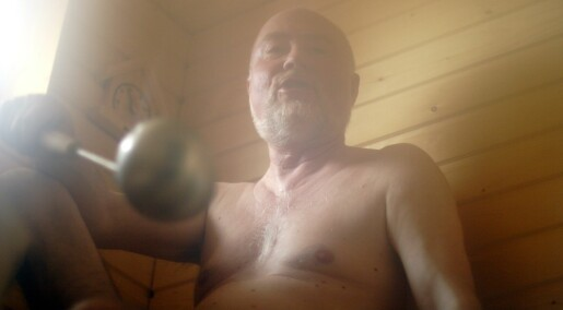 Saunas are good for the heart