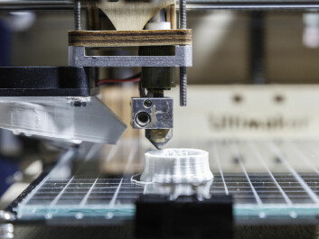 "Transformative change is coming -- whether we like it or not. Here, a 3D-printer is used to print an actual physical object. (Photo: <a href=""http://www.shutterstock.com/da/pic-196793492/stock-photo-white-d-printing-piece-d-printing-detail.html?src=LnlCXFsKu-uugMYnmJ5Sdw-1-1&ws=1"" target=""_blank"">Shutterstock</a>)"