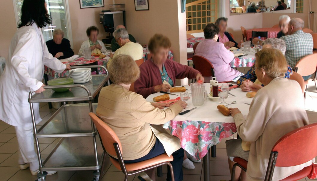 600 nursing home residents in seven different countries have taken part in a study of how the indoor climate can affect the health. (Photo: Colourbox)