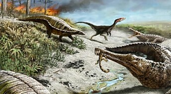 Why dinosaurs avoided the equator for 30 million years
