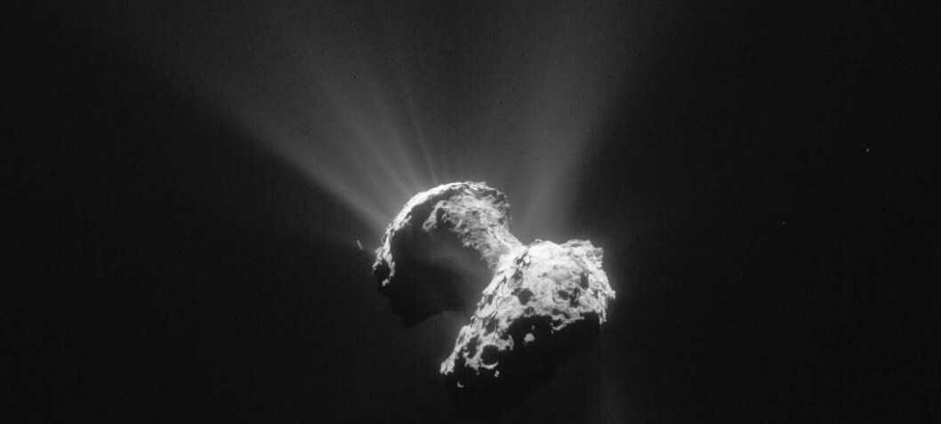 News from Rosetta: Mysterious holes help unlock secrets of the universe