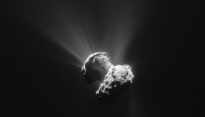 News from Rosetta: Mysterious holes help unlock secrets of the universe