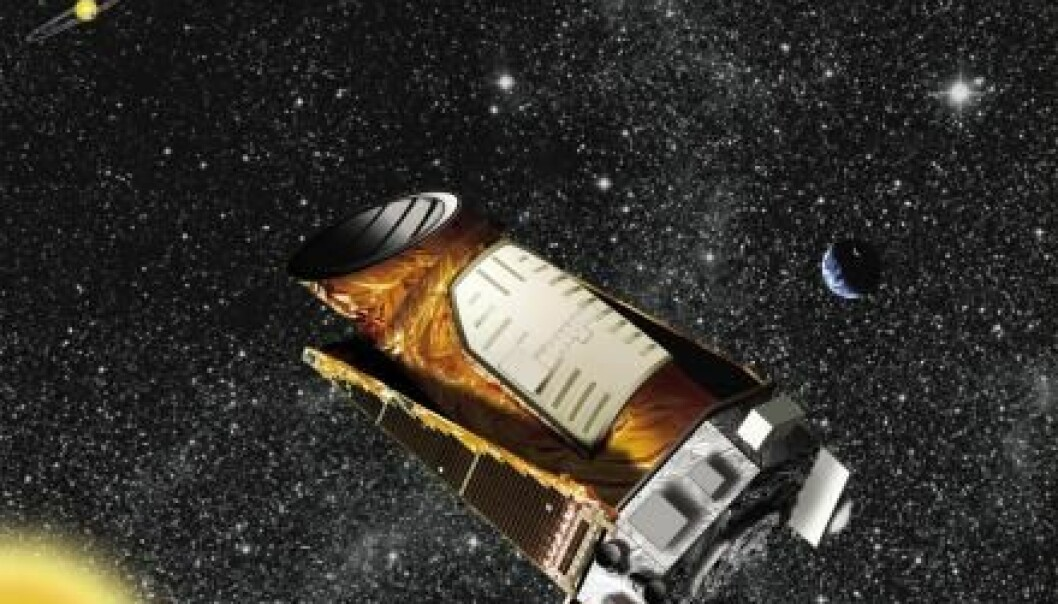 Kepler space telescope has found hundreds of exoplanets, but we knew little about them until a new study determined the age of 56 of these distant planets. (Illustration: NASA)