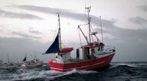 Here comes the electric fishing boat