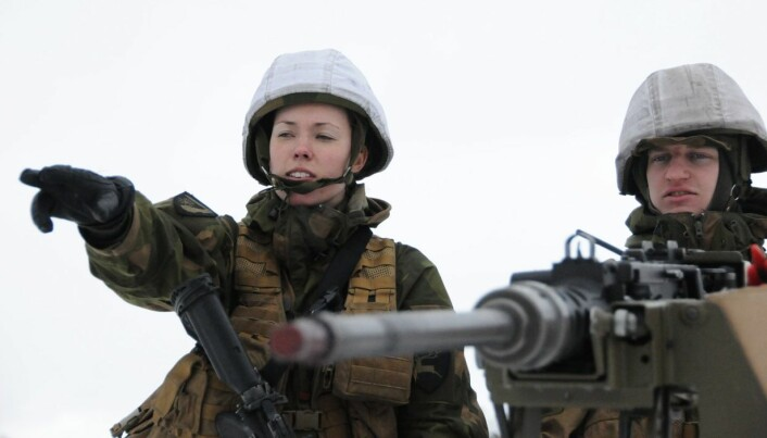 Is the Norwegian military ready for female soldiers?