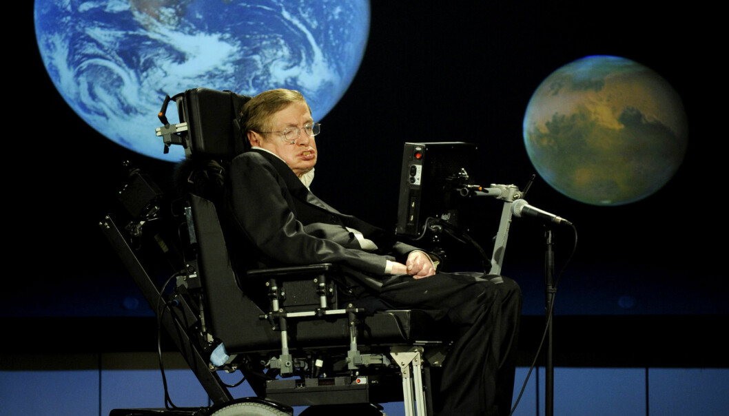 Stephen Hawking will be in Sweden this summer, discussing the very existence of black holes. The public event is part of a weeklong international conference on black holes and Hawking radiation. (photo: Flickr)