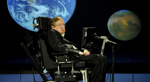 Stephen Hawking public lecture in Sweden this summer