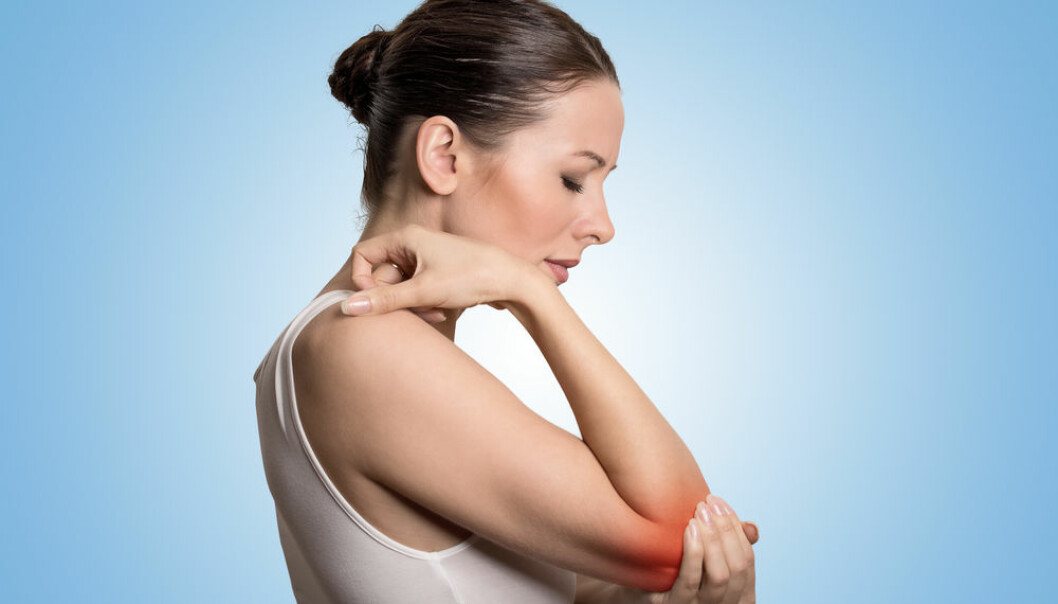 "Scientists simulated elbow pain in volunteers, to investigate what happens in the brain when we experience muscle pain. (Photo: <a href=""http://www.shutterstock.com/pic-286365830.html"" target=_blank>Shutterstock</a>)"
