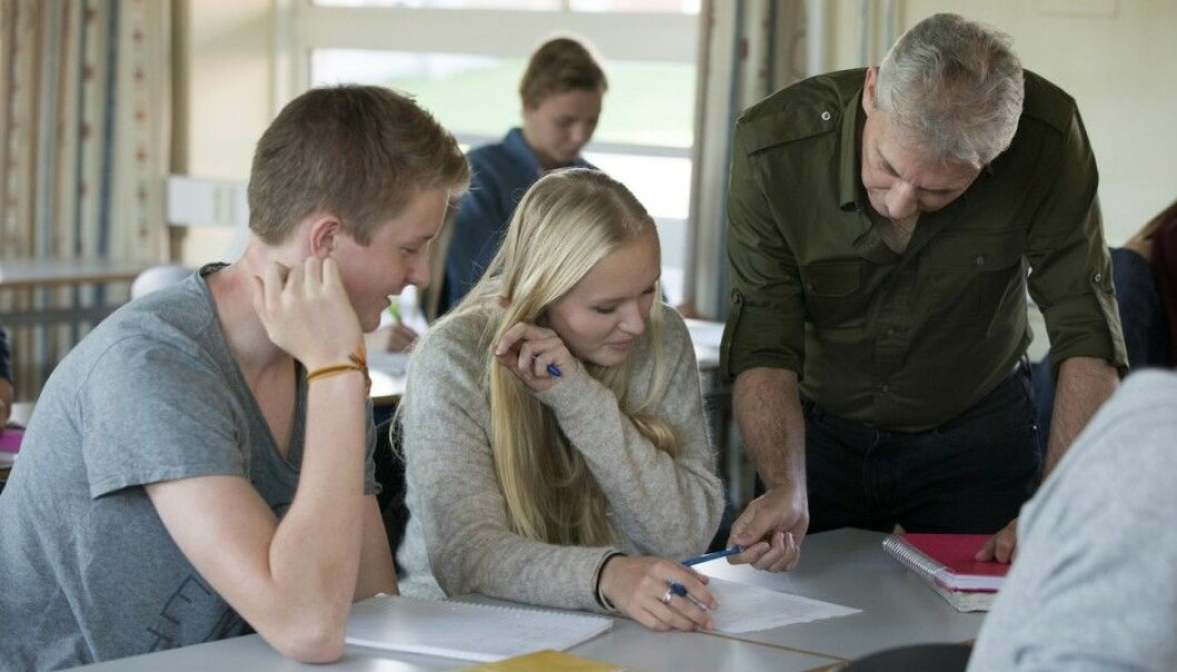 A new Swedish study finds that pupils who have open mind-sets, expecting assignments to be engaging and instructive, manage to tackle more problems than those who think intelligence and abilities are determined and unchangeable. (Photo: Berit Roald, NTB Scanpix)