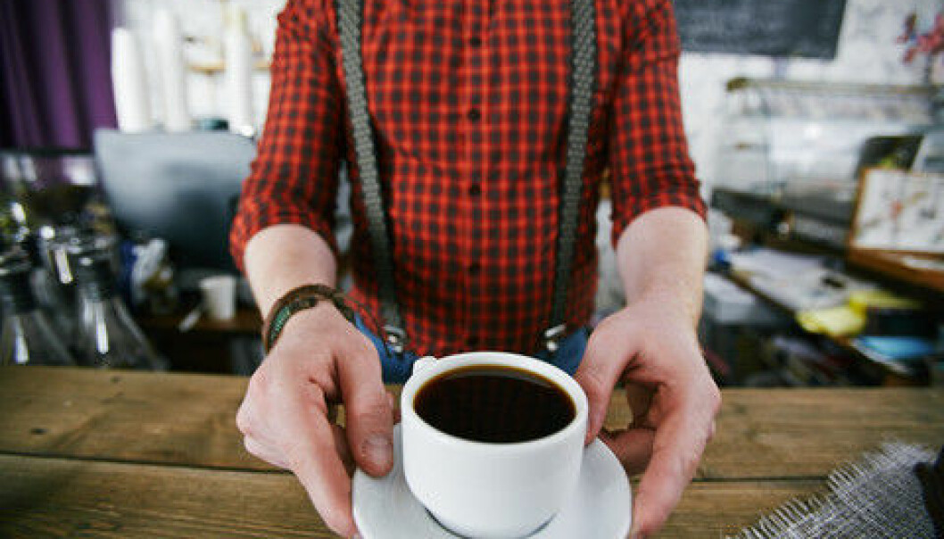 Scientists find no evidence that drinking coffee can lead to the irregular heartbeat known as atrial fibrillation, though they still recommend drinking it in moderation. (Photo: Colourbox)