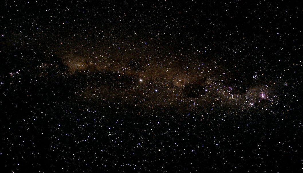 "Is there life out there? Scientists aim to find out using a new method that looks at how plants and microorganisms absorb or reflect light. (Photo: <a href=""http://www.shutterstock.com/da/pic-153140249/stock-photo-beautiful-african-night-sky-and-many-stars-galaxy-background.html"" target'""blank_"">Shutterstock</a>)"