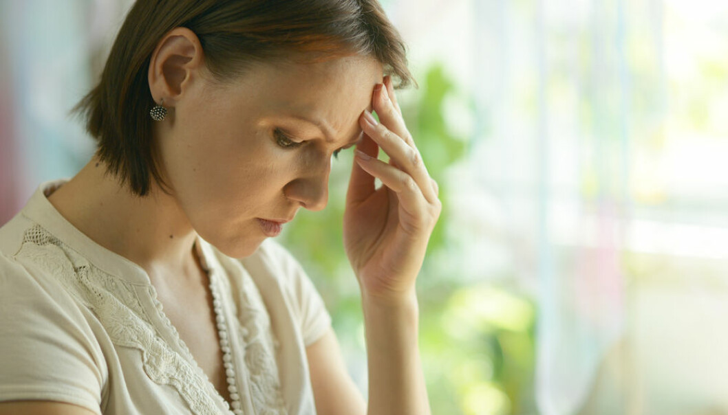 Women are twice as likely to experience depression as men. New research suggests that hormonal changes could be part of the explanation. (Photo: Shutterstock)