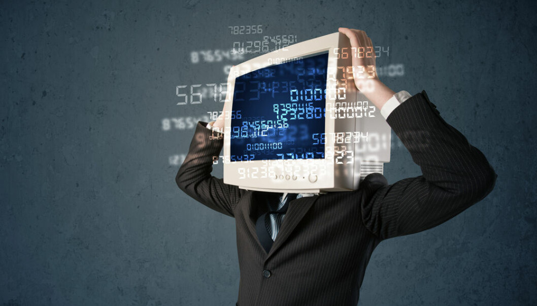 "You will find more accurate or useful answers to your Internet searches with the Semantic Web, which looks beyond the keywords you specified in Google. (Photo: <a href=""http://www.shutterstock.com/da/pic-243192523/stock-photo-human-monitor-pc-calculating-computer-data-on-a-blue-screen.html"" target=""blank_"">Shutterstock</a>)"