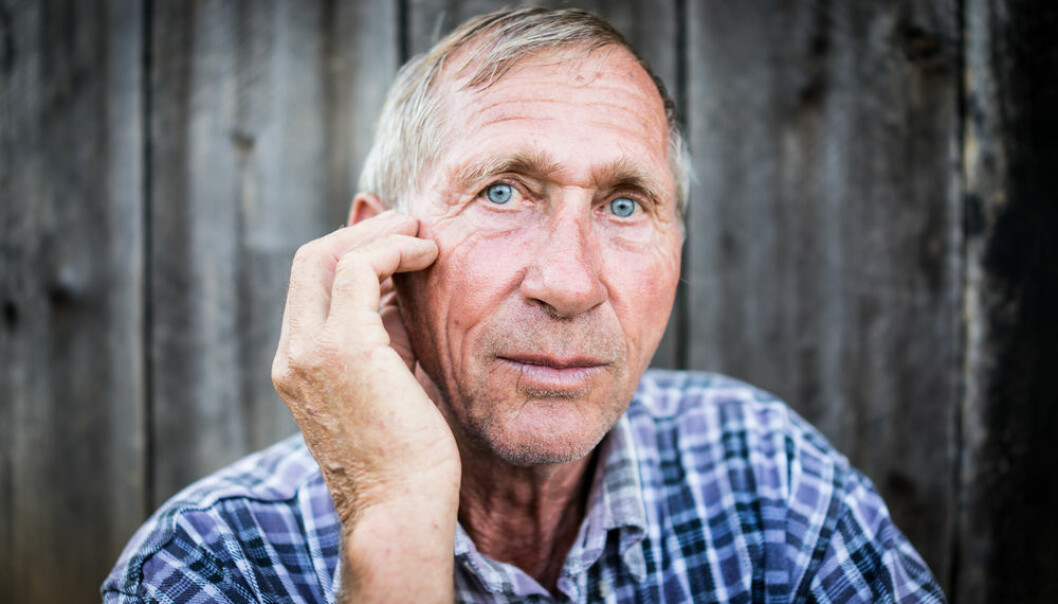 "The fear of suffering a shock from a pacemaker can cause anxiety and depression, destroying the patient's quality of life. (Photo: <a href=http://www.shutterstock.com/pic-224941060/stock-photo-desperate-senior-man-suffering-and-covering-face-with-hands-in-deep-depression-pain-emotional.html target=""blank_"">Shutterstock</a>)"