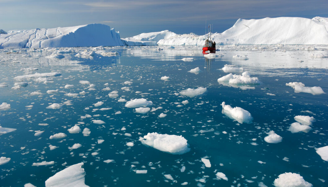 There could be a lot more melt water from the Greenland ice sheet ending up in the oceans than previously thought, shows new research. (Photo: Shutterstock)