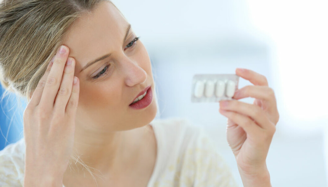 "More studies point towards negative consequences to an unborn foetus if their mother took paracetamol during pregnancy. (Photo: <a href=http://www.shutterstock.com/da/pic-203140528/stock-photo-beautiful-blond-woman-having-a-headache.html  target=""blank_"">Shutterstock</a>)"