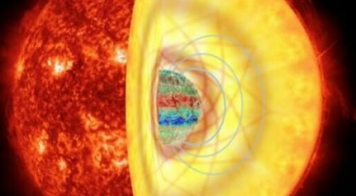 Starquakes reveal massive internal magnetic fields