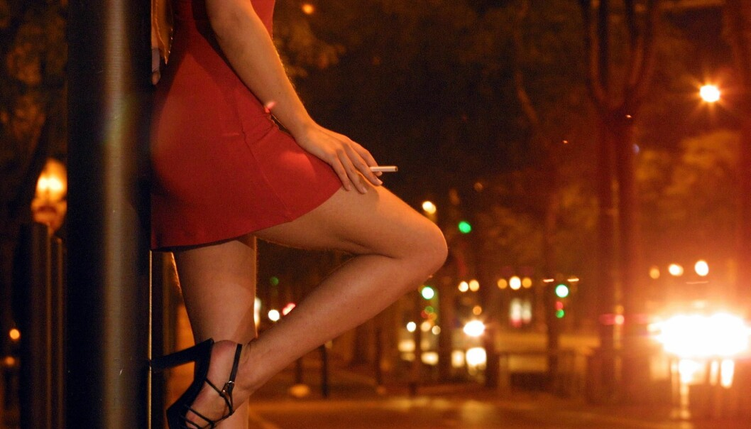 Some 85 percent of prostitutes in a Danish survey say they are sex workers because of the money. Their average earnings differ little from the national average. (Photo: Colourbox)
