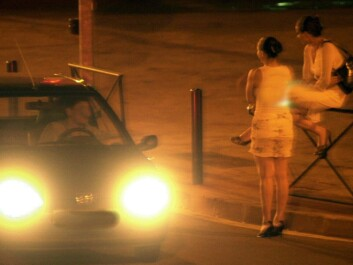 Street prostitutes are more likely than clinic prostitutes to have drug problems. (Photo: Colourbox)