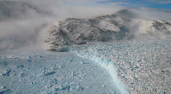 Deceleration of the Greenland ice sheet caused by 11,000-year-old events