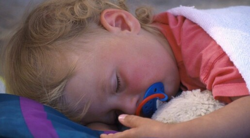 Children who snore can develop learning problems