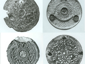 Similar buckles have been found in Norway. (Photo: Ernst Stidsing)