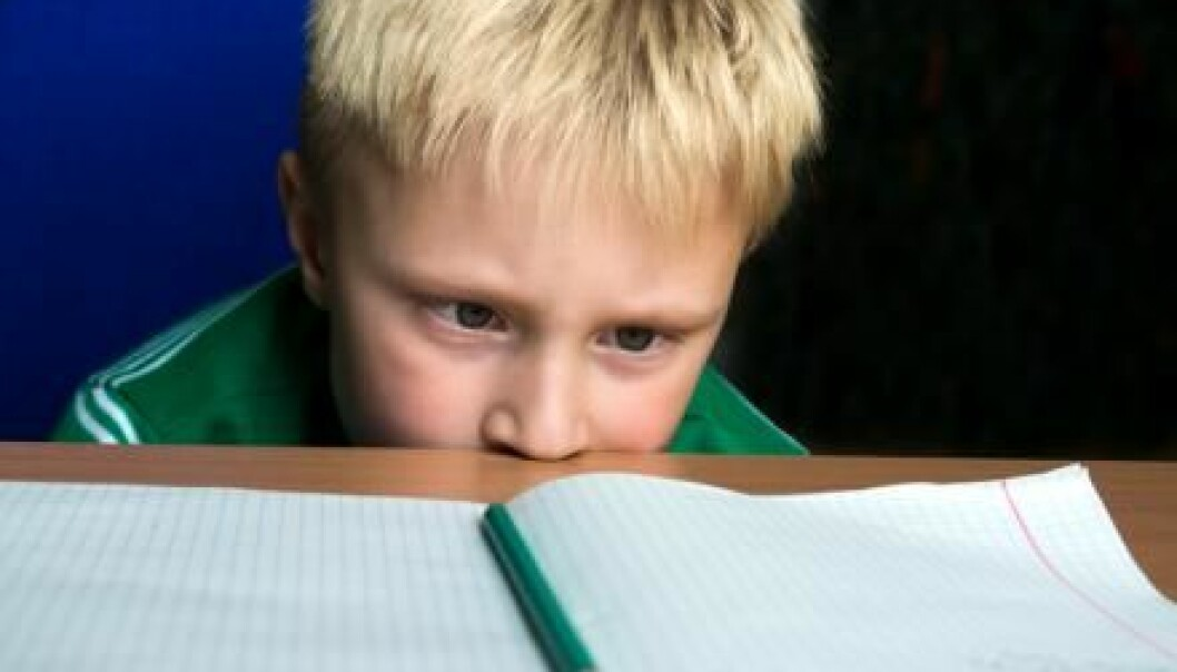 "Student performance deteriorates throughout the school day, shows new research. (Photo: <a href=http://www.shutterstock.com/da/pic-331750409/stock-photo-tired-boring-boy-don-t-want-to-do-his-difficult-school-homework.html target=""_blank"">Shutterstock</a>)"