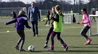 Football makes schoolchildren happier