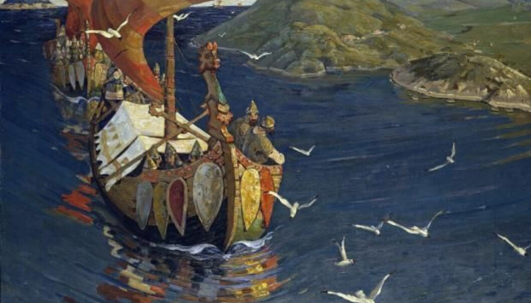 Researchers are now uncovering evidence that the Vikings conquered more of the British Isles than was previously thought (Photo: Nicholas Roerich, 1901)