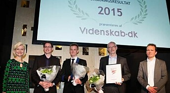Chemists take top prize in Danish Research of the Year Award