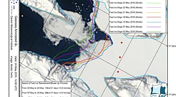 Arctic sea ice at a record low