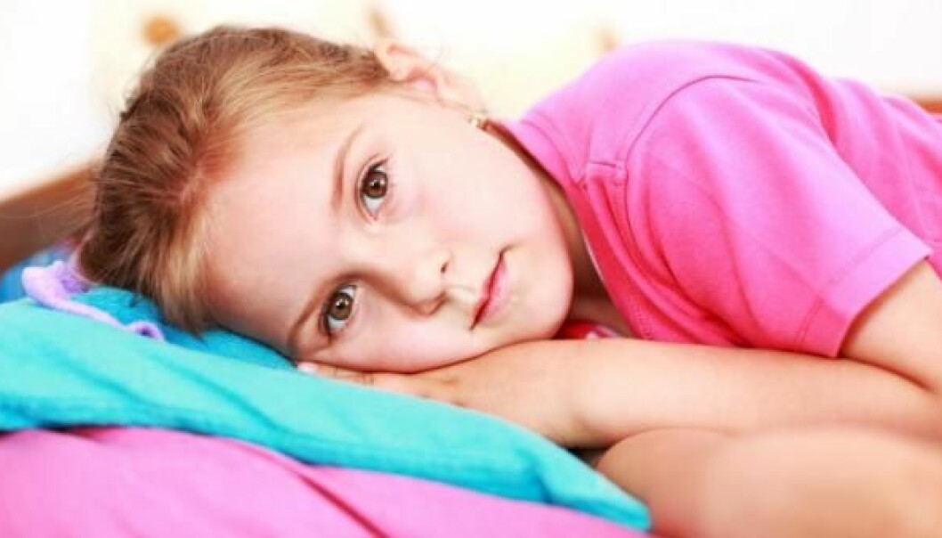 A new study shows that kids who suffer from ADHD often have trouble sleeping and that ADHD could be a symptom of these sleep problems. (Photo: Colourbox)